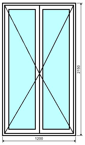 porte fen tre 2 vantaux en aluminium au meilleur prix bezin. Black Bedroom Furniture Sets. Home Design Ideas