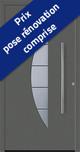 Porte ACIER - THERMO 65