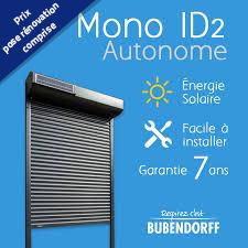 Volet roulant Autonome à l'énergie solaire