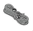 Câble de raccordement (huisserie) pour platine de réception, contacteur à plots et transformateur