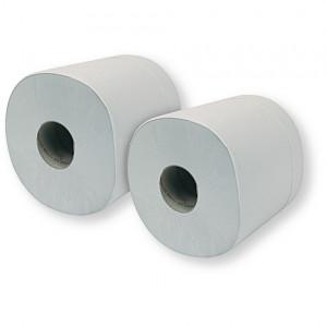 Lot de 2 Bobines d'essuyage blanc