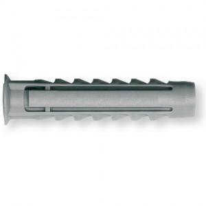 Chevilles en nylon grises BXfix avec collerette 12 x 60