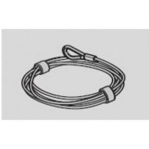 Hormann Câble métallique diamètre 3mm FERRURE L avec cosse complet