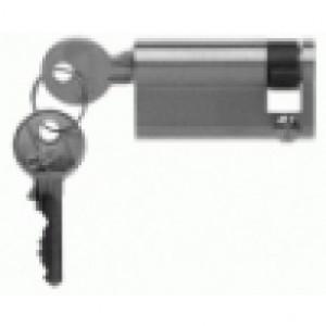 Hormann profil de demi-cylindre 50,5 mm avec 2 clés