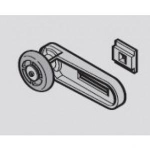 Hormann Support-galet supérieur avec galet de roulement