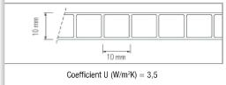 Polycarbonate alvéolaire - 10mm