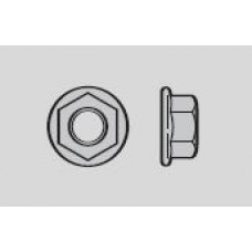 Hormann Ecrou hexagonal M8 à bride creuse galvanisé