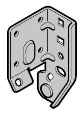Hormann Pièce d'appui, ferrure N, L, H