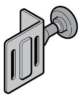Hormann Support-galet supérieur avec galet de roulement (ferrure L)