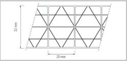 Polycarbonate alvéolaire THERMOCLEAR PLUS - 32mm