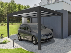 Carport autoportant polycarbonate