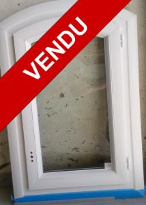 Fenêtre PVC cintre surbaissé 1 vantail