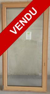 Fenêtre Bois 1 vantail oscillo-battant