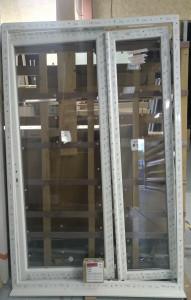 Porte fenêtre PVC 2 vantaux tiercée