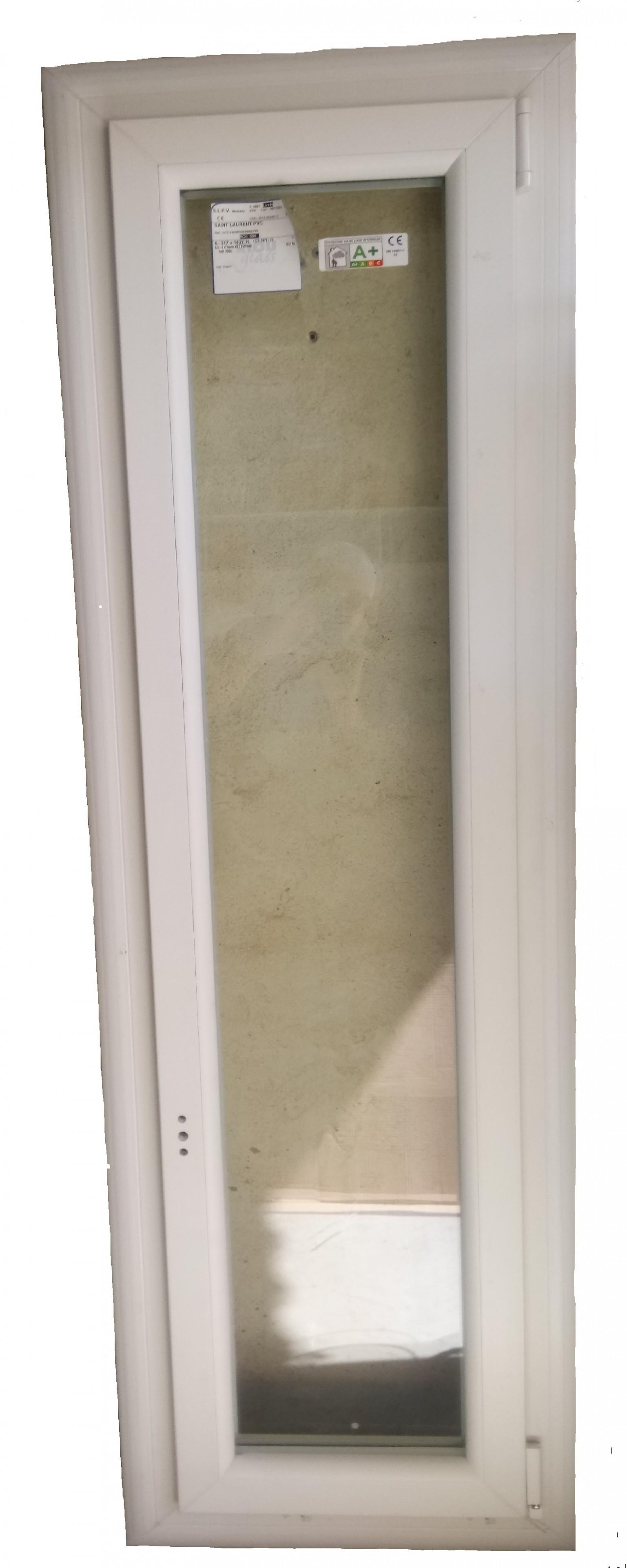Fenêtre PVC 1 vantail oscillo-battant - bezin