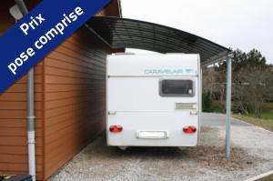 Abris Camping-car - Appuyé