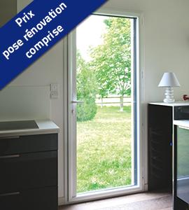Porte-fenêtre 1 vantail PVC
