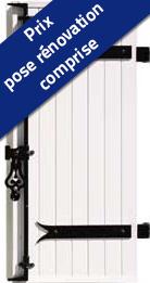 Volet battant 1 vantail PVC