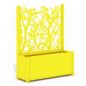 Jardinière Élégance - ARBRES coloris jaune