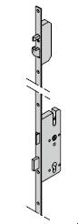 Serrure à pêne à crochet, 8 mm pour cylindre profilée