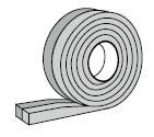 Ruban d'étanchéité précomprimé pour largeur de joint de 6 à 15 mm