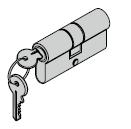Cylindre profilé 35,5 + 27,5 mm