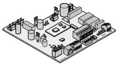 Platine de commande 868 MHz