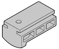 Guide de câble du profilé de fermeture