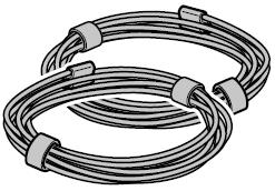 Câble en acier Ø 2 mm pour porte de garage enroulable