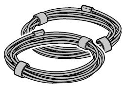 Câble en acier Ø 2 mm pour grille à enroulement HG 75