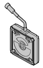 Protection anti-déraillement avec connecteur et câble de 8 m
