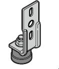 Support-galet inférieur HST