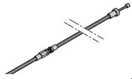 Câble sous gaine kurz HST