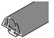 Joint latéral côté fermeture HST, HG063