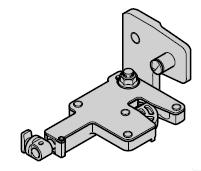 Palier de fermeture à levier Réglable, N 80 / EcoStar / Porte à portillon incorporé avec pêne tournant à partir du n° de série 05088