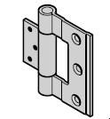 Paumelle de porte pour portillon indépendant