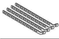 4 Pattes d'ancrage perforées EcoStar à partir du n° de série 07121