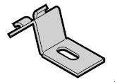 Patte de serrage N 80 / EcoStar / Porte à portillon incorporé