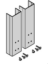 Protection latérale du bras de levier N 80 / EcoStar / Porte à portillon incorporé, incluant accessoires de fixation, à partir du n° de série 01078