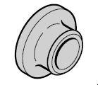 Douille de bras de levier N 80 / EcoStar / Porte à portillon incorporé