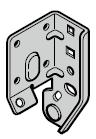 Plaque de base, ferrures N, L, H et BL