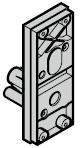 Porte-serrure, TS 42 mm