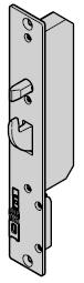 Verrou complémentaire de verrouillage multipoints pour portillon incorporé
