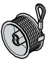 Tambour d'enroulement, ferrures N et L supérieures à 2250 mm