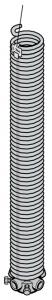 Ressort de torsion avec cône de réglage de tension
