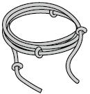 Corde manuelle, Ø 8 mm