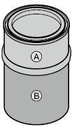 Revêtement d'apprêt polyester en pot (1 kg)
