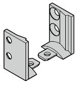 Raccord de seuil pour portillon indépendant