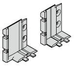 Raccord de seuil pour portillon indépendant avec type de profilé 4