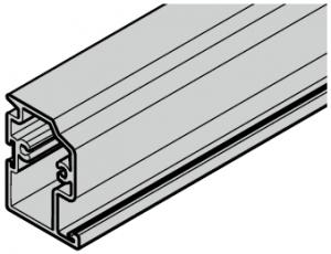 Profilé de sol pour portillon indépendant avec type de profilé 4